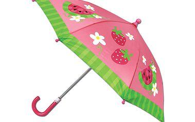 Deštník s melounem. Bavte se na výletech v dešti i slunci!