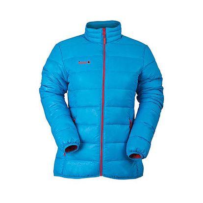Dámská modrá bunda