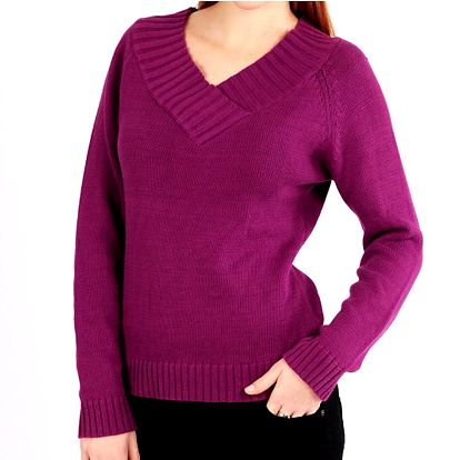 Dámský fialový svetr Nothing Else