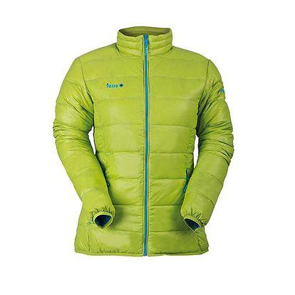 Krásná zelená bunda navržena pro extrémní podmínky