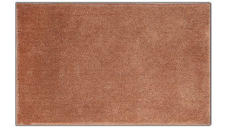 Koupelnová předložka Grund ROMAN karamelová, 50x80 cm