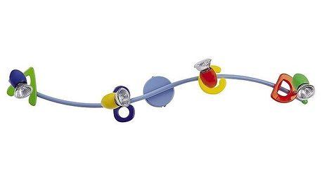 Dětské svítidlo Rabalux ABC multicolor 6684, 4 světla