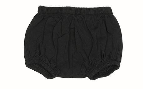 Černé dětské kalhotky