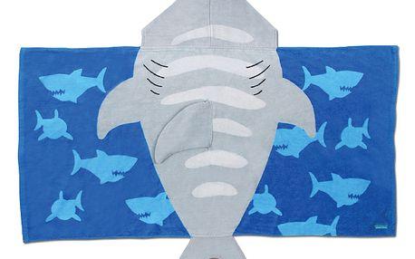 Ručník s kapuckou - žralok