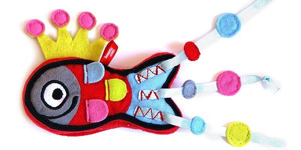 Nalepovací hračka kouzelná rybka