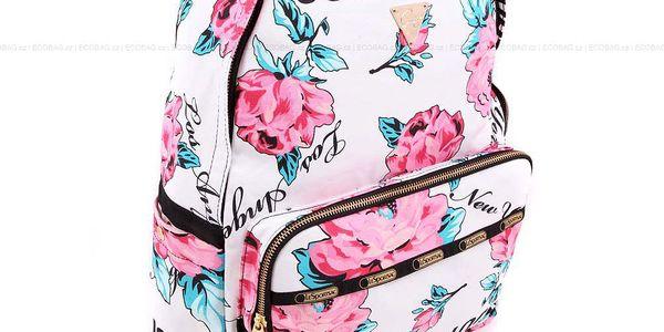 Batoh Double Zip Backpack Wonder Rose