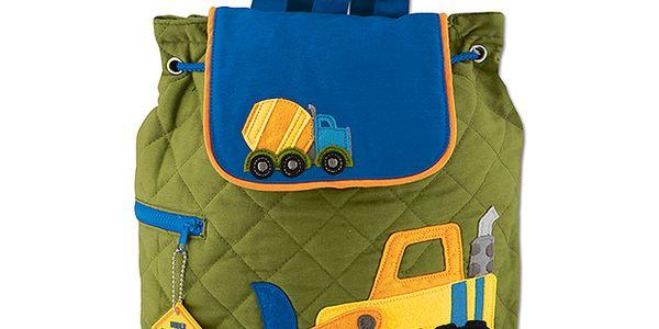 Dětský batoh s bagrem