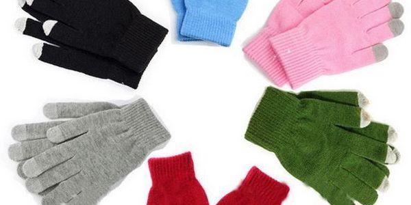 Dotykové rukavice na mobil - nemrzněte při psaní zpráv!