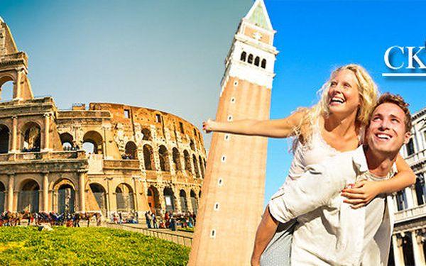 Poznávací zájezd do Říma, Vatikánu a Florencie