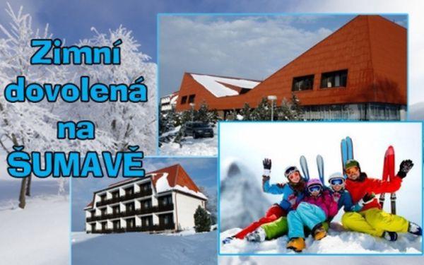 POBYT S LYŽOVÁNÍM na Šumavě či v Rakousku! 3 dny pro 2 s polopenzí vč. krytého bazénu, fitness a dalších zábav! Možnost skibusů do rakouských ski areálů a prodloužení pobytu! Vyhlášený hotel Fontána Hrdoňov na Lipně!