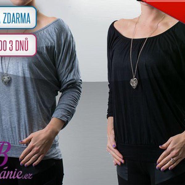 Designové dámské tuniky s náhrdelníkem