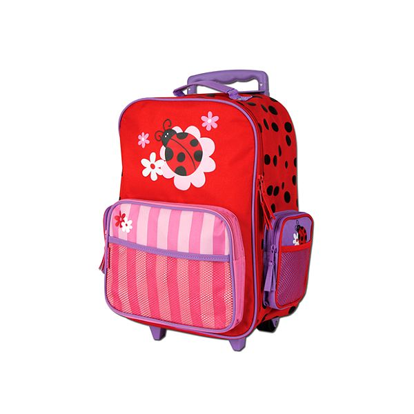 Kufr na kolečkách s beruškou
