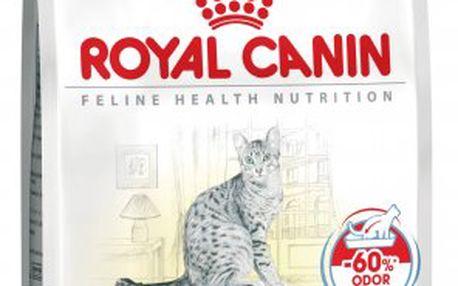 Krmivo pro kočky s ideální váhou chované v domácnosti Royal Canin Indoor 10 kg