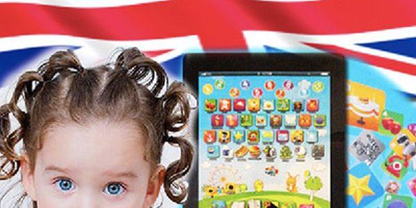 Dětský tablet pro děti s angličtinou