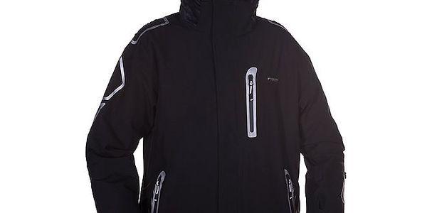 Pánská černá bunda na lyže Envy