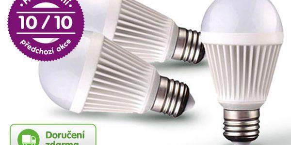 LED žárovky 9 W – 3 ks, doručení zdarma