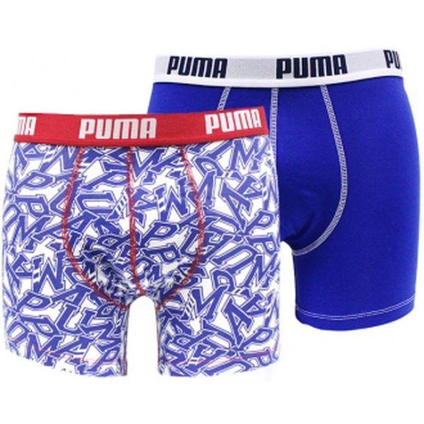 Pánské boxerky puma college typo boxer 2p modrá