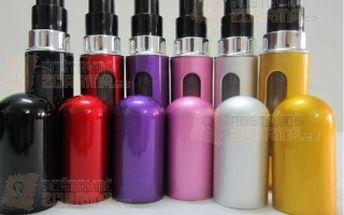Mini flakónek na oblíbený parfém 5 ml - 6 barev a poštovné ZDARMA! - 9905986