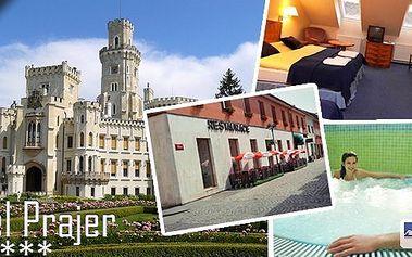 Gurmánský pobyt pro 2 osoby na 3 dny v hotelu Prajer. Zažijte pravý gurmánský zážitek i relax ve Vodňanech při pobytu se snídaní, degustační večeří,tříchodovou večeří a privátní whirlpool.