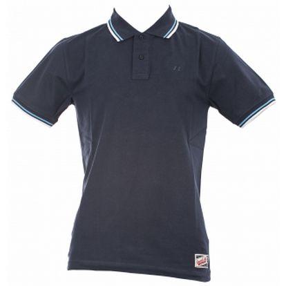 Pánské POLO tričko - Russell Athletic POLO TEE modrá