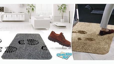 Praktický pomocník do každé domácnosti, rohožka Clean step mat, díky které všechny nečistoty zůstanou za vašimi dveřmi za pouhých 229 Kč!!