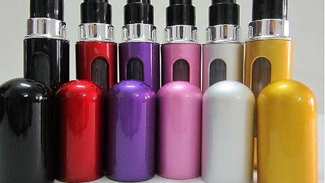 Mini flakónek na oblíbený parfém 5 ml - 6 barev a poštovné ZDARMA! - 9105986