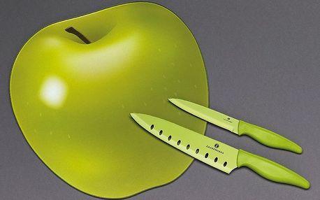Krájecí prkénko s nožem jablko Zassenhaus