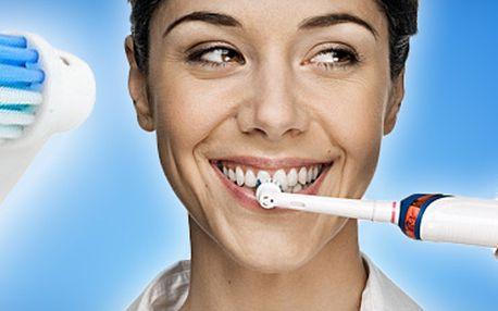 Výhodné! Univerzální náhradní hlavice na el. kartáčky Oral-B Precision Clean!