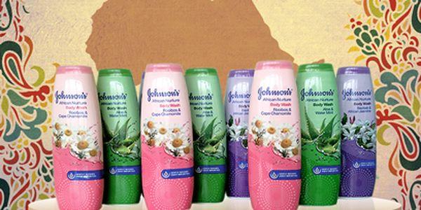 3 sprchové gely Johnson's za 99 Kč! Oblíbená řada African Nurtune!