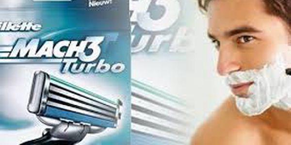 Nejpraktičtější dárek pro drahého? GILLETTE Mach 3 Turbo hlavice!Navíc ve slevě 47%! Neváhejte najít další skvělé dárky na maxsleva.cz!