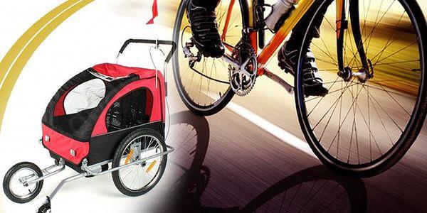 Přívěsný vozík na kolo – 59% sleva