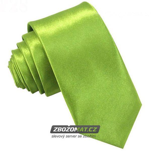 Trendy úzká kravata v nejrůznějších barvách!
