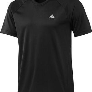 Pánské funkční triko Adidas ESS F Tee Black vhodné pro všechny typy sportů