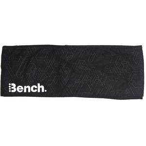 Černá fleecová šála Bench
