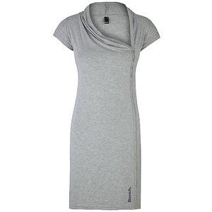 Dámské šedé šaty s asymetrickým výstřihem Bench