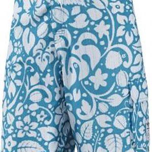 adidas HAWAII SWIM SHORT tyrkysová/bílá XL