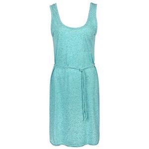 Dámské zelenkavě melírované šaty Bench