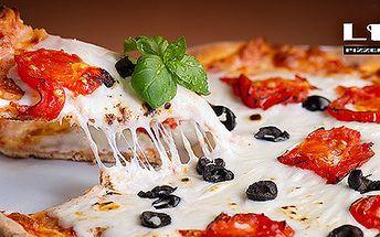 2 pizzy, těstoviny, rizota nebo saláty dle výběru