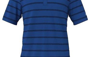 Pánské tenisové tričko Adidas TS Stripy Polo 3 poskytuje maximální komfort a pohodlí díky technologii ClimaLite