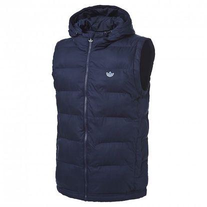 Pánská vesta Adidas Spo Hooded Gilet Jacket vhodná do chladnějších dnů