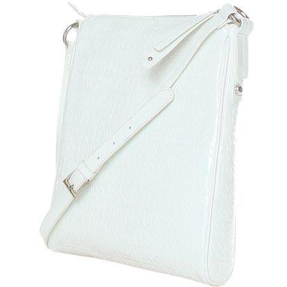 Nádherná Cross taška, kabelka přes rameno ROCCOBAROCCO bílá