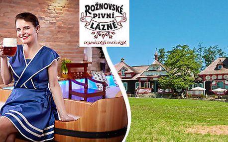 Relax v Rožnovských pivních lázních a pobyt na Pustevnách pro 2