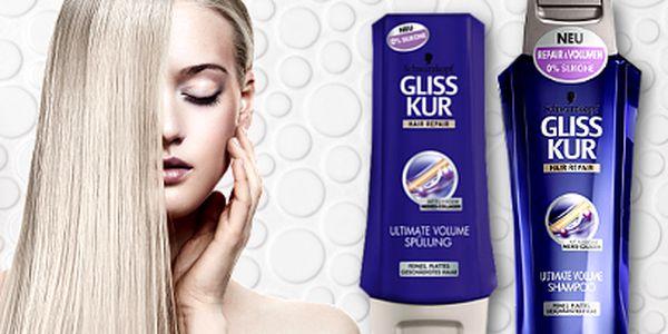 Šampón a kondicionér GLISSKUR za 109 Kč!