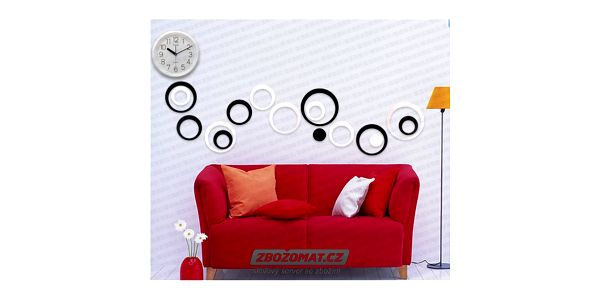 Designové kroužky na zeď - ozdobte si své bydlení!