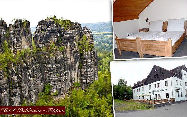 3 nebo 7 dní v hotelu Waldstein v Českém Švýcarsku pro dva