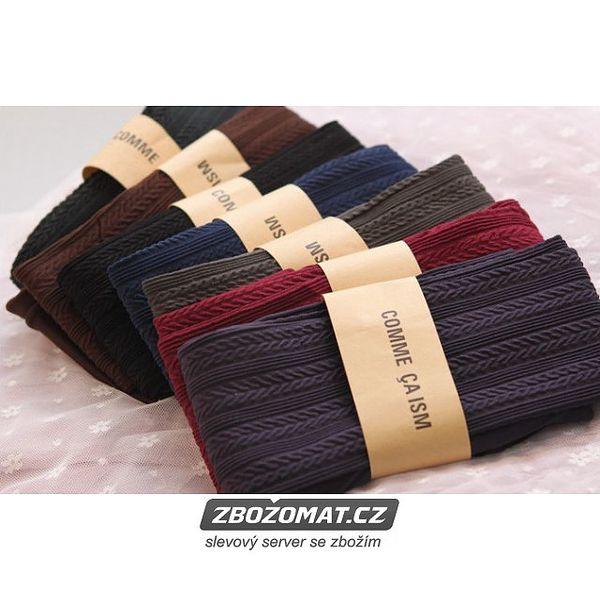 Zimní dámské punčochové kalhoty se vzory v krásných barvách!