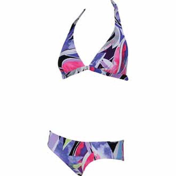 Plavky - o'neill pw tropical halter bikini b