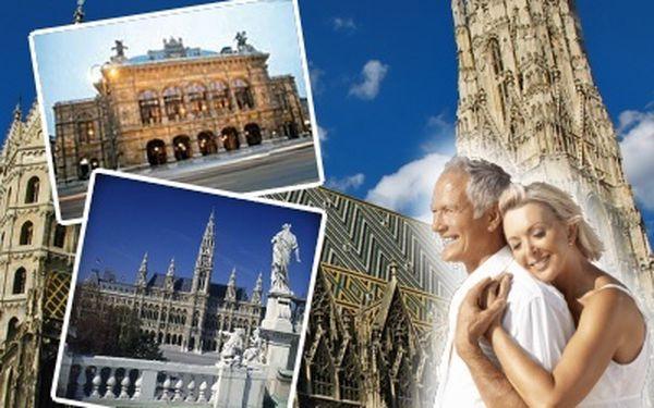 3 dny ve Vídni v Hotelu 3+ *se snídaní, městská doprava + muzea a galerie v ceně, s dopravou z Prahy ZDARMA