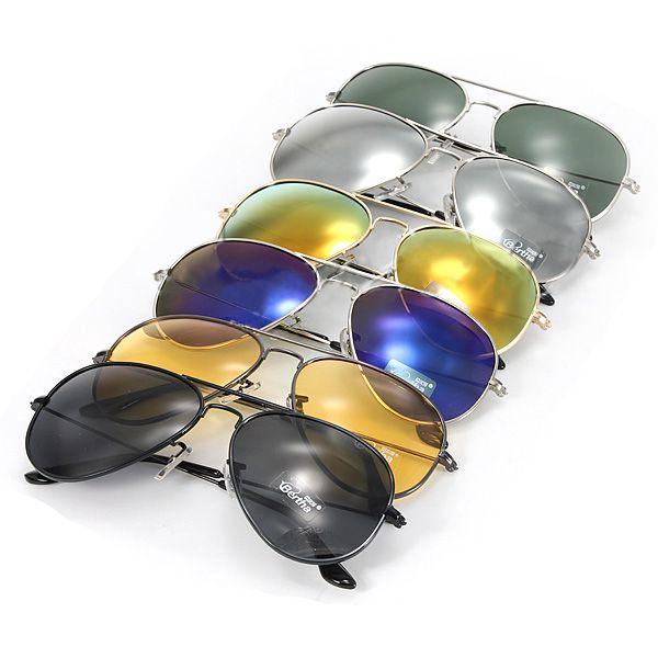 Sluneční brýle - pilotky, 6 barevných provedení a poštovné ZDARMA! - 7508158
