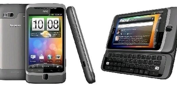 Špičkový telefon HTC Desire s výsuvnou klávesnicí a HD kamerou !